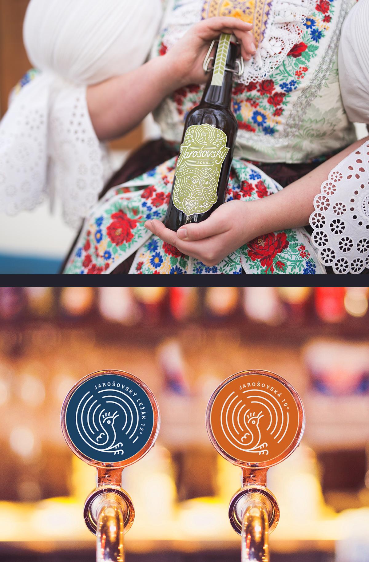 Jarosov Brewery — crafting a new visual identity. </br>World Beer Awards 2017 winner