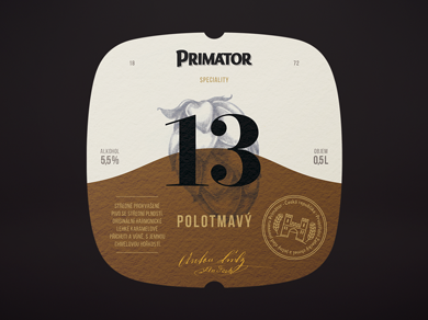 Primátor Brewery — a new product line, a redesigned logo and label, and a modern tribute to the craft of brewing